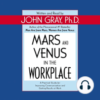 Mars and Venus in the Workplace