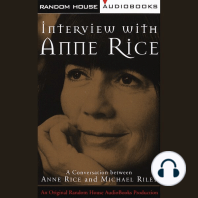 Interview with Anne Rice