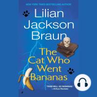 Cat Who Went Bananas