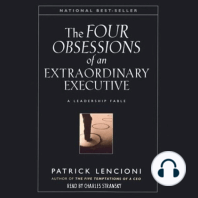 The Four Obsessions of an Extraordinary Executive