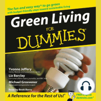 Green Living for Dummies