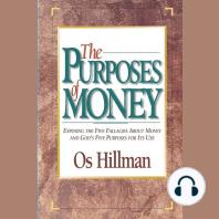 Purposes of Money