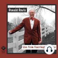 Donald Davis Live from Fearrington Village