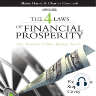 The 4 Laws of Financial Prosperity