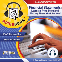 Financial Statements: Learning from Them & Making Them Work for You