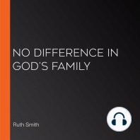 No Difference in God's Family