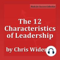 The 12 Characteristics of Leadership