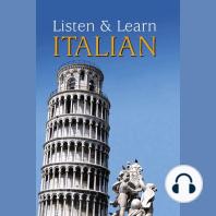 Listen & Learn Italian