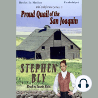 Proud Quail Of The San Joaquin