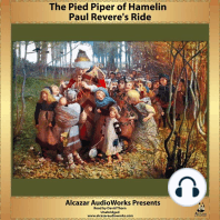 Paul Revere's Ride and The Pied Piper of Hamelin