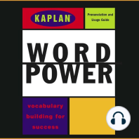 Kaplan Word Power: Vocabulary Building for Success