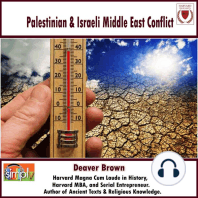 Palestinian & Israeli Middle East Conflict