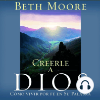Creerle A Dios (Believing God)
