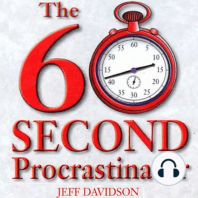 The 60 Second Procrastinator