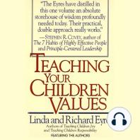 Teaching Your Children Values