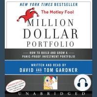 The Motley Fool Million Dollar Portfolio