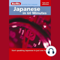 Japanese in 60 Minutes: Start speaking Japanese in just one hour
