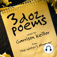 3 Dozen Poems: From the Writer's Almanac