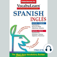 Spanish/English Level 3