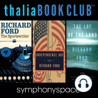 Richard Ford's The Sportswriter, Independence Day, and The Lay of the Land