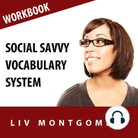 Social Savvy Vocabulary System