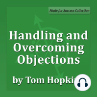 Handling and Overcoming Objections