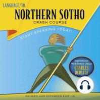 Northern Sotho Crash Course