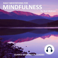 Daily Meditations for Mindfulness by Rod Watson