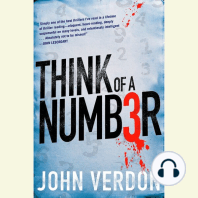 Think of a Number: A Dave Gurney Novel, Book 1