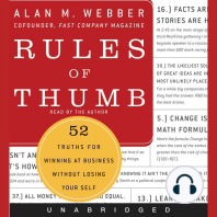 Rules of Thumb