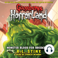 Goosebumps HorrorLand: Monster Blood for Breakfast!
