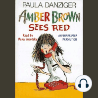 Amber Brown Sees Red