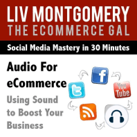 Audio for eCommerce