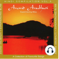 Anand Anubhuti (Experiencing Bliss)
