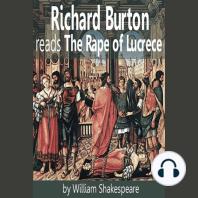 Richard Burton reads The Rape of Lucrece
