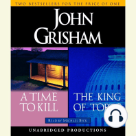 A Time to Kill / The King of Torts