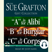 Sue Grafton ABC Gift Collection