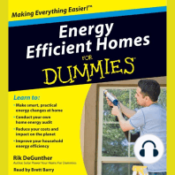 Energy Efficient Homes for Dummies