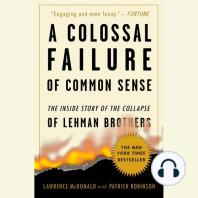 A Colossal Failure of Common Sense