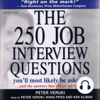The 250 Job Interview Questions You'll Most Likely Be Asked…
