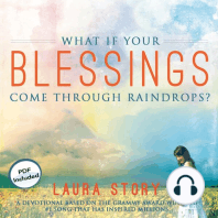 What If Your Blessings Come Through Raindrops?