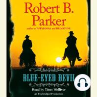 Blue-Eyed Devil: Virgil Cole/Everett Hitch, Book 4