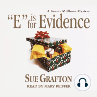 """""""E"""" Is for Evidence"""