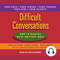 Difficult Conversations