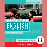 Drive Time English: Intermediate Level: A Complete Course from the Language Experts