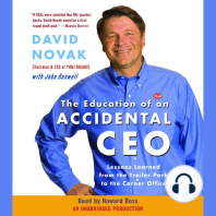 The Education of an Accidental CEO