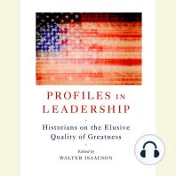 Profiles in Leadership