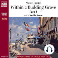 Within a Budding Grove – Part 1