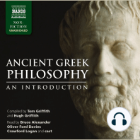 Ancient Greek Philosophy – An Introduction