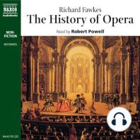 The History of Opera
